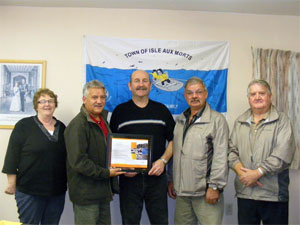 Award presented to town of Isle aux Morts